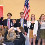 2017 Youth Legislature officers take oath