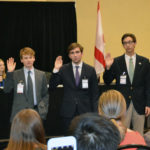 2018 Youth Legislature Officers Take Oath