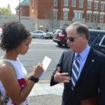Youth Media Interviews U.S. Sen. Doug Jones Prior to Friday Lunch